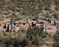 Binnenland van Marokko