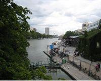 Canal Saint Martin en la Villette