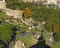 Tuinen Van Het Vaticaan.Vaticaanse Tuinen In Vaticaanstad Rome Natuur