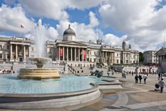 Soho en Trafalgar Square